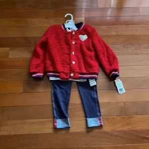 Little Lass 3 Piece Jacket Set